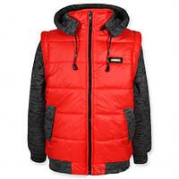 Модная куртка-жилетка