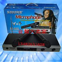 Комплект микрофонов Shure AK-530, беспроводный динамический микрофон shure, беспроводный радиомикрофон