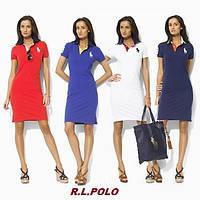 Ralph Lauren Polo женское платье 100% хлопок ральф лорен поло