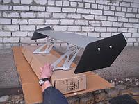Спойлер широкое крыло № 118 серый.