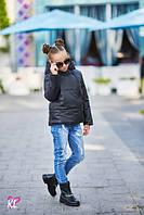 Куртка детская чёрная UD/-02235