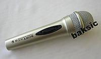 Микрофон петличный SONY SN-301, проводной микрофон sony, динамический микрофон, вокальный микрофон