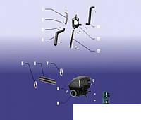 Патрубок сепаратора верхний (от клапанной крышки к фильтру сепаратора) Chery Amulet