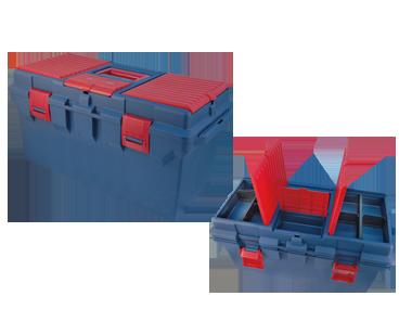 Ящик переносной пластиковый (560*278*270MM) KINGTONY