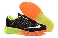 Мужские кроссовки Nike Air Max 2016 Black/Orange