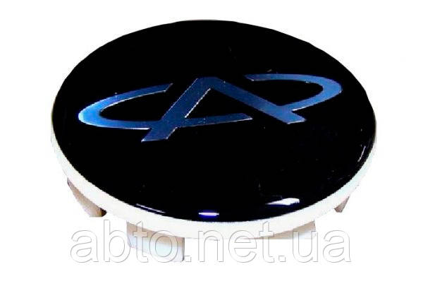 Заглушка колпака колеса литого чёрная Chery Amulet