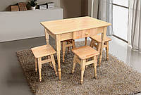 Комплект кухонный стол и 4 табуретки (серия Смарт)