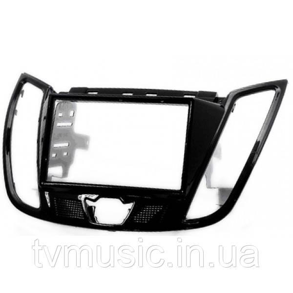 Переходная рамка Carav 11-159 2 DIN (Ford Focus, C-Max, Kuga, Escape)