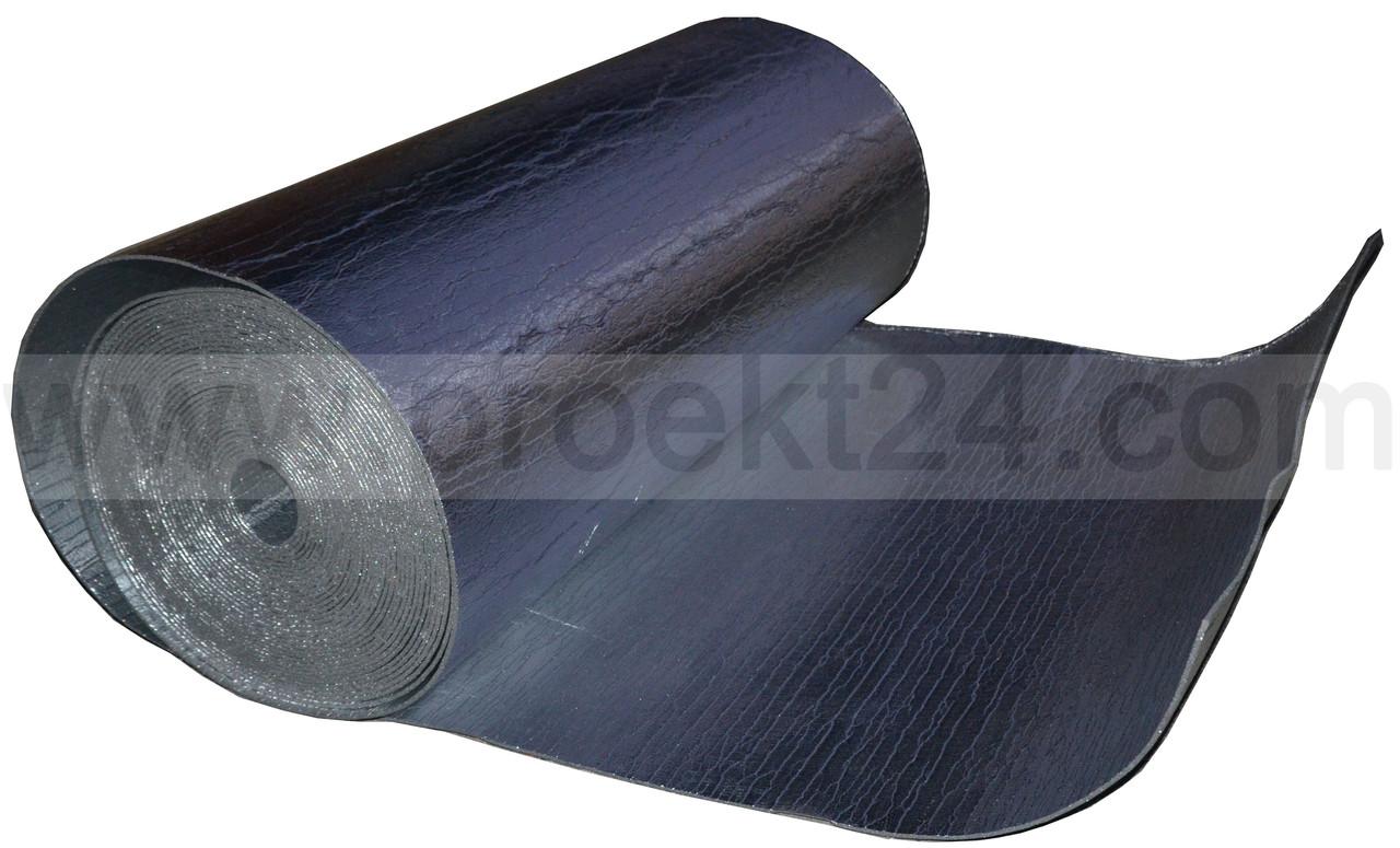 Алюфом 5мм (тип Б) фольгированный с двух сторон химически сшитый вспененный полиэтилен