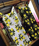 Платье лимоны