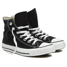 Кеды Converse All Star Replica черные, фото 2