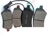 Колодки тормозные передние Chery Elara/Eastar/Forza/Tiggo (вентилируемые диски)