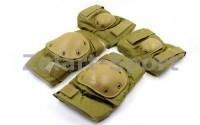 Защита тактическая наколенники, налокотники  BC-4267-H(ABS, полиэстер 600D, светлый хаки) - ADX.IN.UA в Одессе