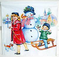 Салфетка для декупажа Рождество&Винтаж 33*33 см, 1 шт