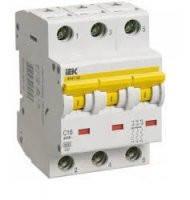 Автоматический выключатель ВА 47-60 3Р 40А 6 кА х-ка С, MVA41-3-040-C, ИЭК