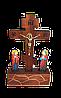 Деревянное распятие Иисуса