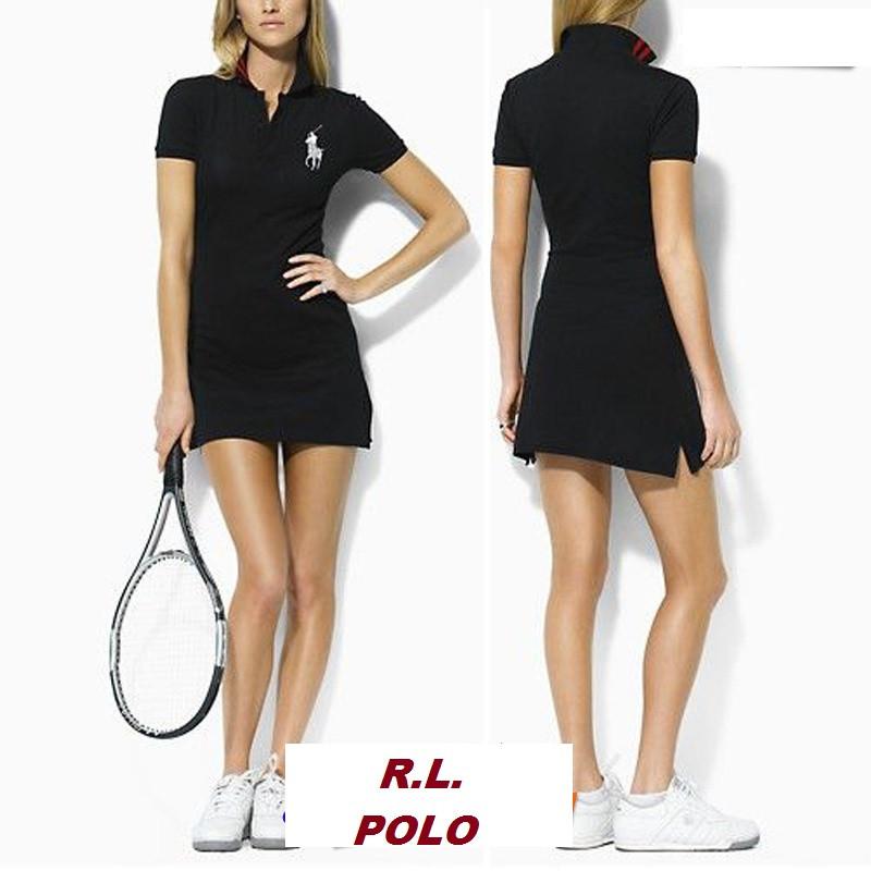 В стиле Ральф поло женское платье 100% хлопок