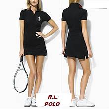 У стилі Ральф поло жіноча сукня 100% бавовна