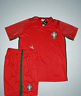 Футбольная форма сборной Португалии Euro 2016 домашняя