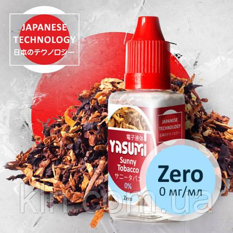 Жидкость для электронных кальянов, сигарет, vipe Yasumi (Ясуми) Солнечный Табак (Sunny Tobacco)