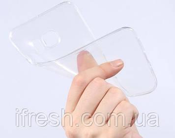 Чехол силиконовый прозрачный для Samsung Galaxy S4 MINI (i9190)
