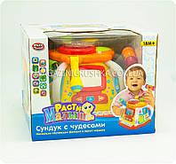Развивающая интерактивная игрушка «Сундук с чудесами» (игры, световые и звуковые эффекты)