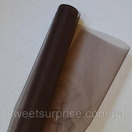 Органза (коричневый), фото 2