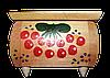 Скринька з гербом 16х11
