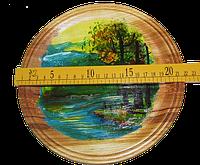 Тарелка расписная 22 см