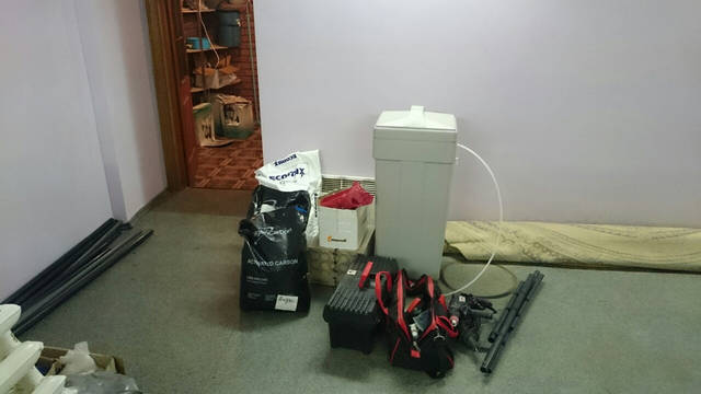 Подготовка к монтажу фильтров