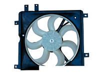 Вентилятор охлаждения радиатора (левый) Geely CK/MK