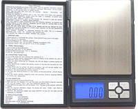 Весы ювелирные notebook  6296 / 1108-5  500 г точность 0.01