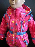 Курточки для маленьких девочек.