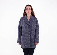 Пальто женское осеннее из шерсти-букле