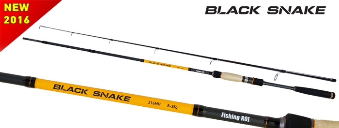 Спиннинг Fishing ROI Black Snake 8-35g 2.16m