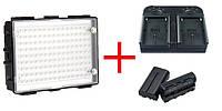 Светодиодный накамерный видео свет DOF C200 + зарядное устройство + 2 аккумулятора (C200), фото 1