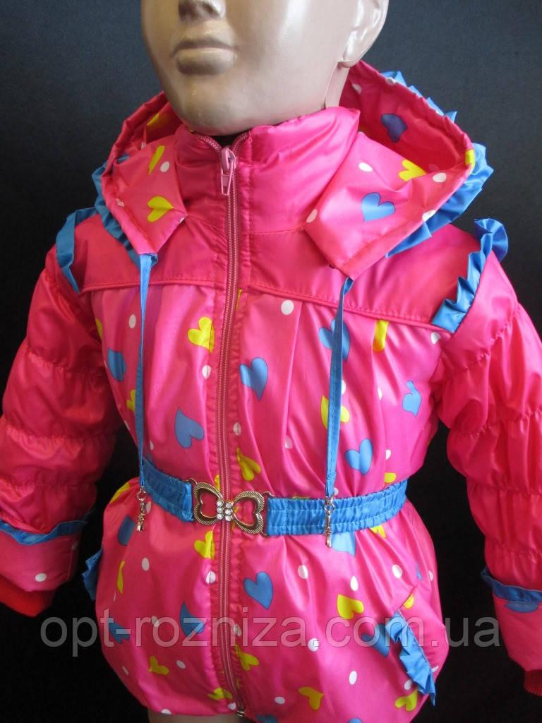 Красивые курточки для маленьких девочек.