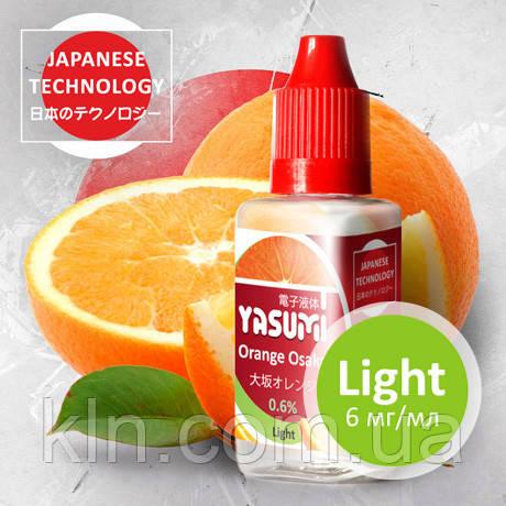 Жидкость для электронных кальянов, сигарет, vipe Yasumi (Ясуми) Апельсин Осака (Orange Osaka)