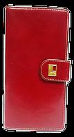 Женский кошелек красный кожа JCCS