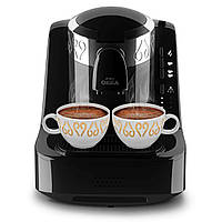 Кофеварка Arzum OKKA (черный цвет с хромовой вставкой)