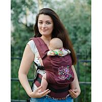 Эргономичный рюкзак Basic (Цветы)