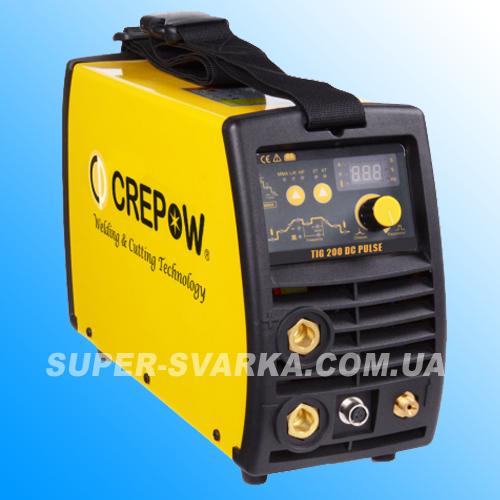 Аргоновая сварка CrepoW TIG-200 DC Pulse