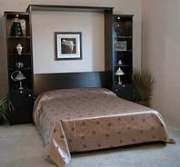 Кровать трансформер с пеналами
