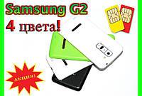 Телефон Samsung G2 - 4.5'', 2 SIM, Android, 4 ЦВЕТА!