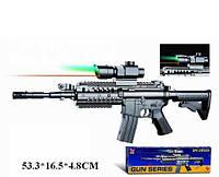 Игрушечный автомат ES 1003 SM 0902A, детское оружие, автомат с пульками, Детский автомат 0902 А