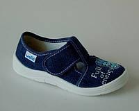 Детские тапочки WALDI арт.60-476 джинс.фиксик (Размеры: 24-30)