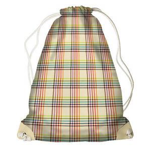 Рюкзак мешок с принтом Клетка