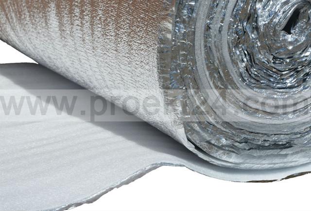 Алюфом НПЭ 5 мм (тип А), фольгированный газовспененный пенополиэтилен