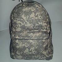 Рюкзак молодежный Хаки (Пиксель) ( код: IBR049H )