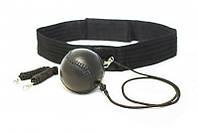 Тренажёр-эспандер для бокса (кожаный мяч), фото 1
